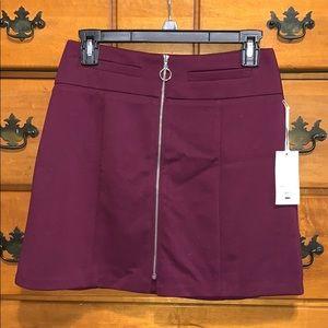 Candie's Zip-Up Mini Skirt